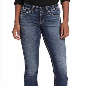 Silver Suki jeans, size 32, dark wash